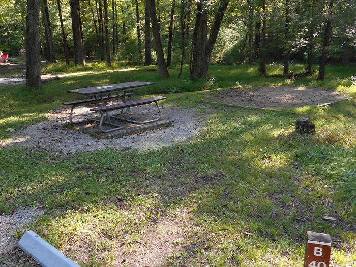 Cades Cove Campground B40