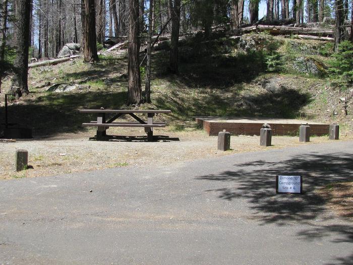 Dimond O Campground, Site #6