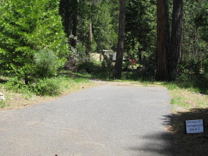 Dimond O Campground, Site #7