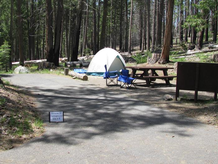 Dimond O Campground, Site #8