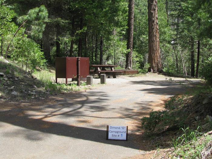 Dimond O Campground, Site #9
