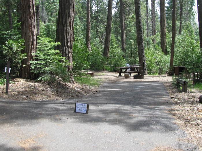 Dimond O Campground, Site #14