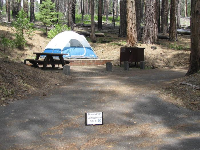 Dimond O Campground, Site #15