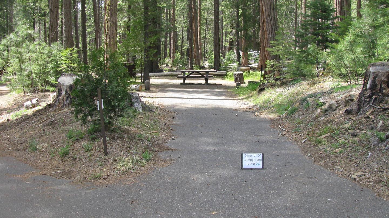 Dimond O Campground, Site #26
