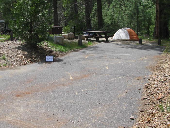 Dimond O Campground, Site #31