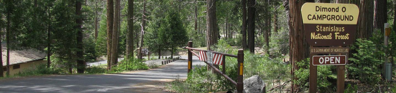 Dimond O Camprground EntranceDimond O Campground Entrance