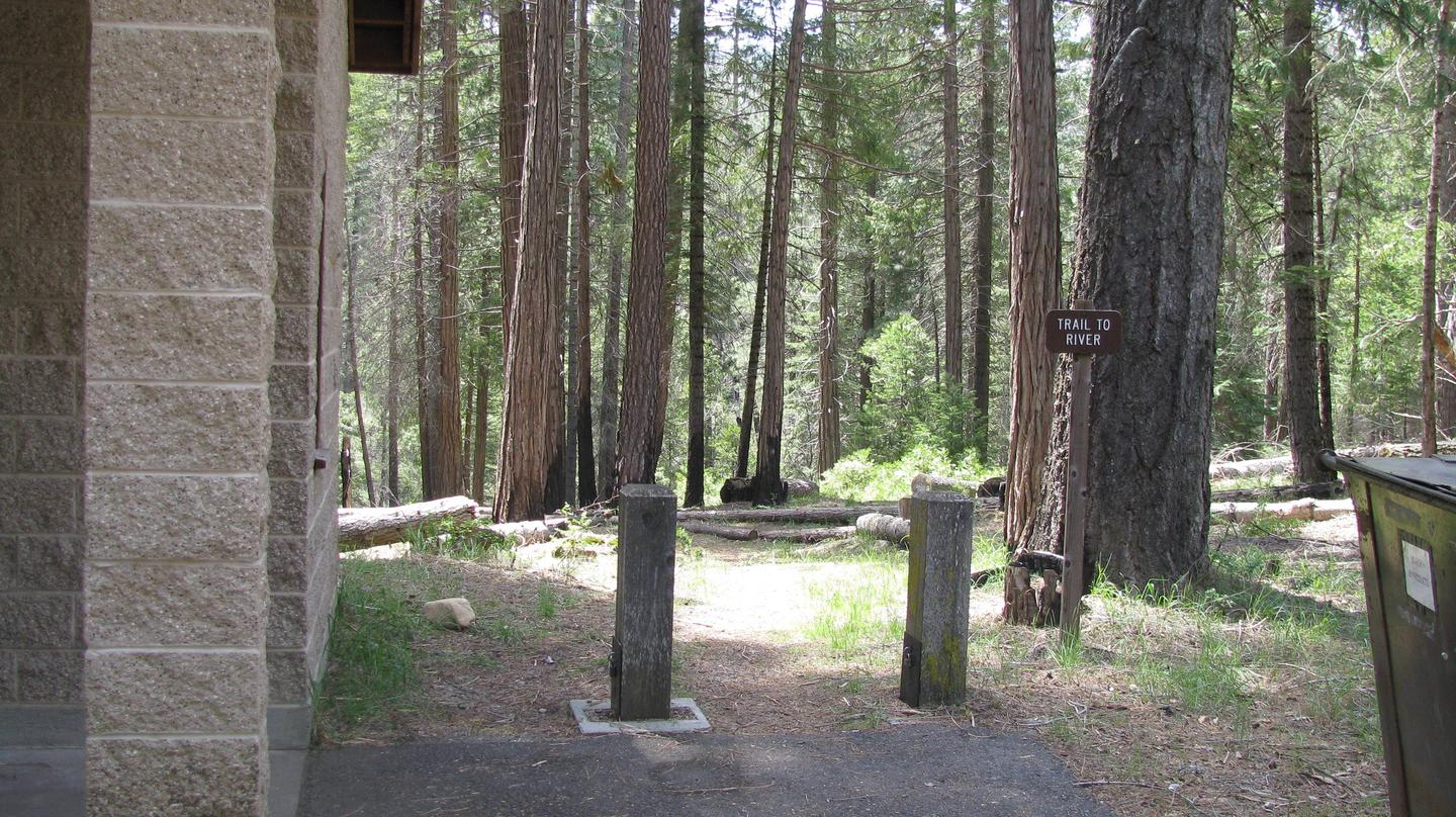 Dimond O Campground Trail Sign