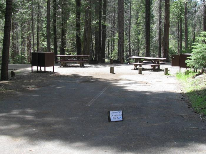 Dimond O Campground, Sites #20&21