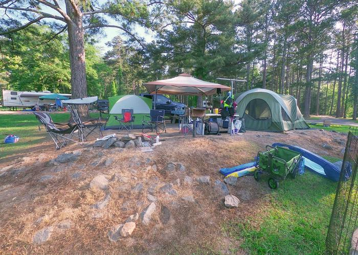 SW112 - Campsite view.Sweetwater Campground, campsite 112.