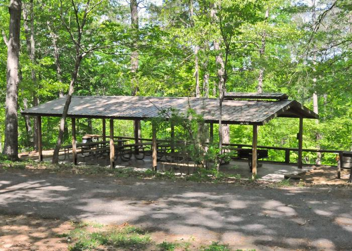 SWXX7 - PavillionSweetwater Campground Group Campsite 28 A-H Pavilion.