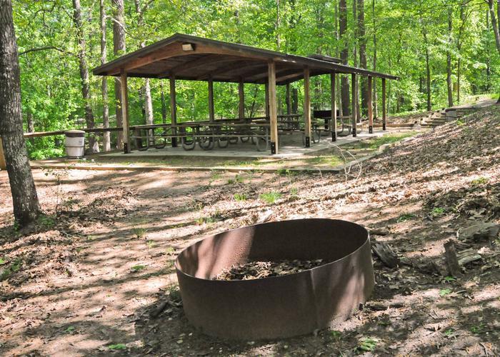 SWX10 - PavillionSweetwater Campground pavillion.