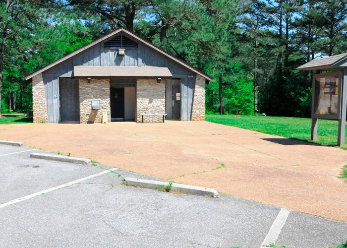 SWX11 - Bath house ASweetwater Campground bath house A.