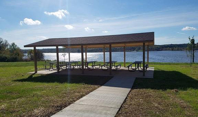Woodcock Creek Lake Overlook Recreation Area Picnic Shelter