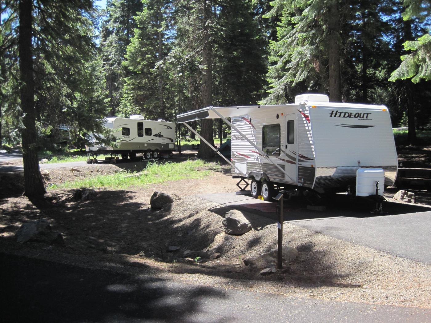 RV camping siteGreat RV camping available