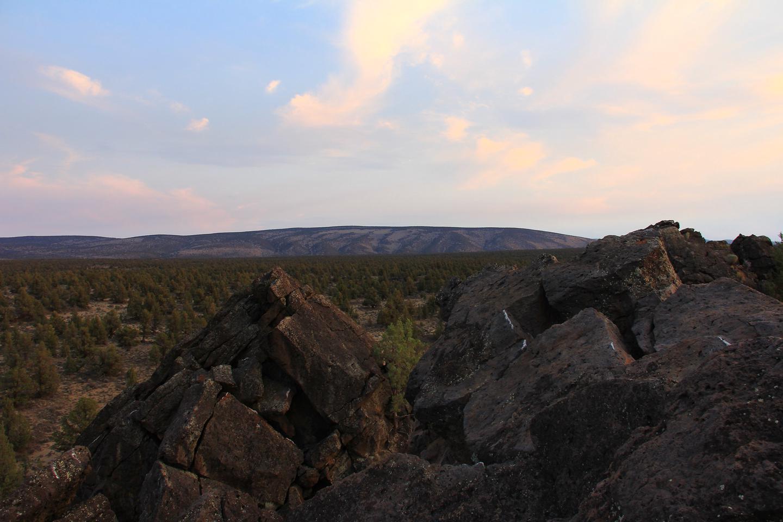 Oregon Badlands Wilderness Tumulus Formation