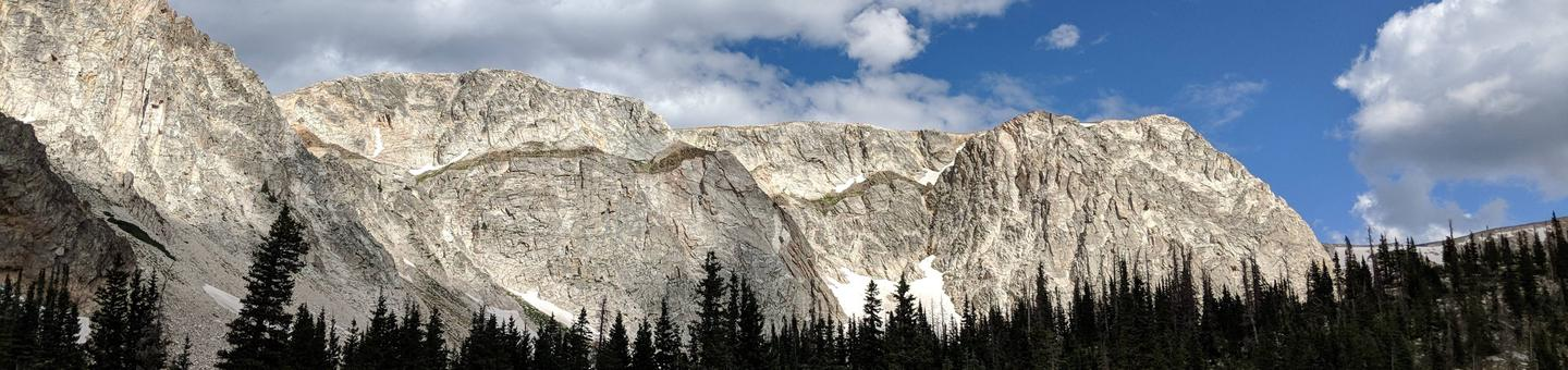 Medicine Bow-Routt National Forest - Snowy Range at Mirror Lake