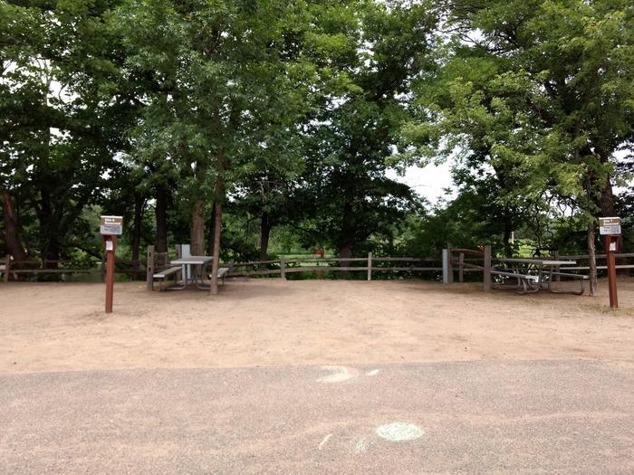 Sandy Lake - Campsite 6Sandy Lake Site 6