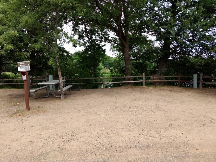 Sandy Lake - Campsite 7Sandy Lake Site 7