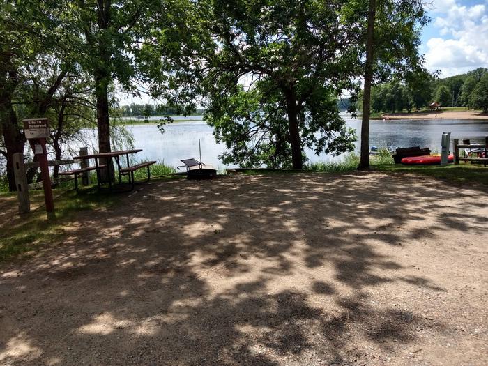 Sandy Lake - Campsite 10Sandy Lake Site 10