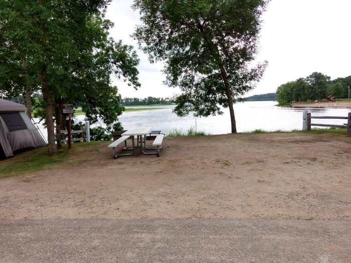 Sandy Lake - Campsite 11Sandy Lake Site 11