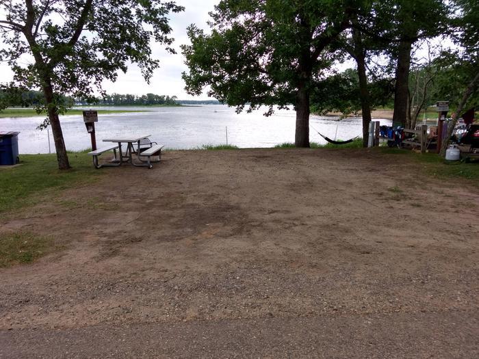 Sandy Lake - Campsite 12Sandy Lake Site 12