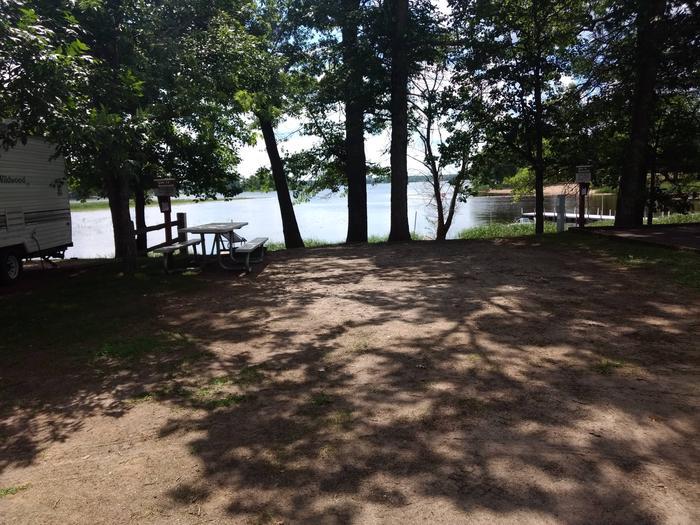 Sandy Lake - Campsite 13Sandy Lake Site 13