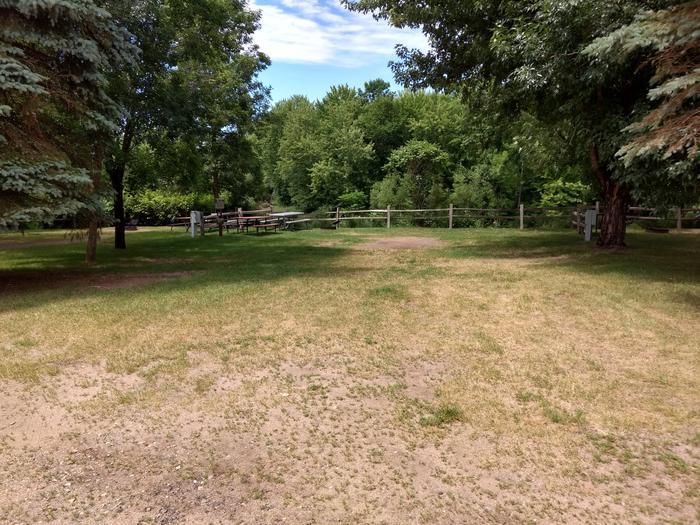 Sandy Lake - Campsite 18Sandy Lake Site 18