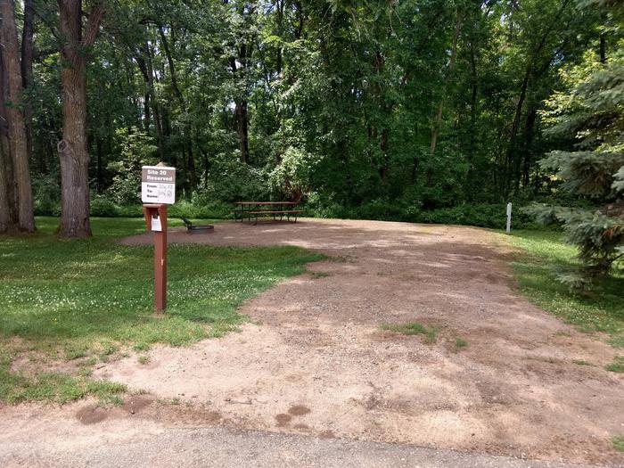 Sandy Lake - Campsite 20Sandy Lake Site 20