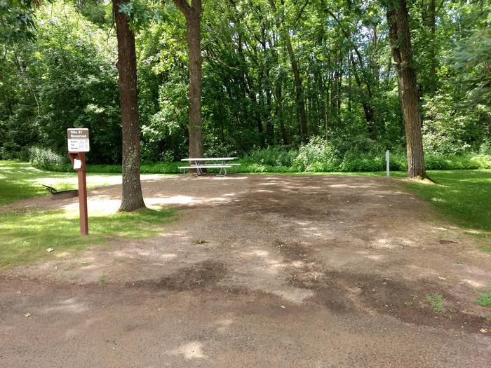 Sandy Lake - Campsite 21Sandy Lake Site 21
