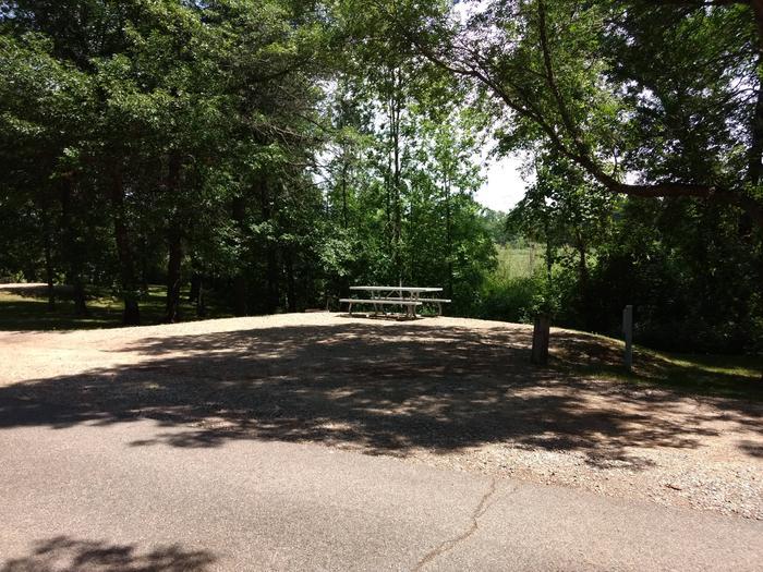 Sandy Lake - Campsite 23Sandy Lake Site 23