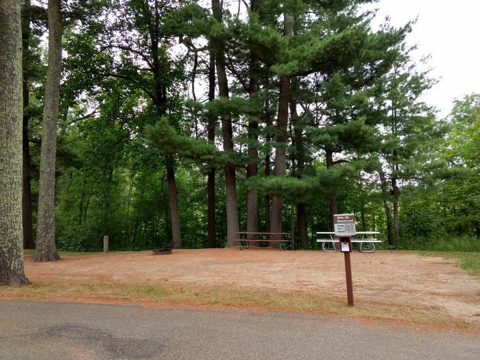 Sandy Lake - Campsite 26Sandy Lake Site 26
