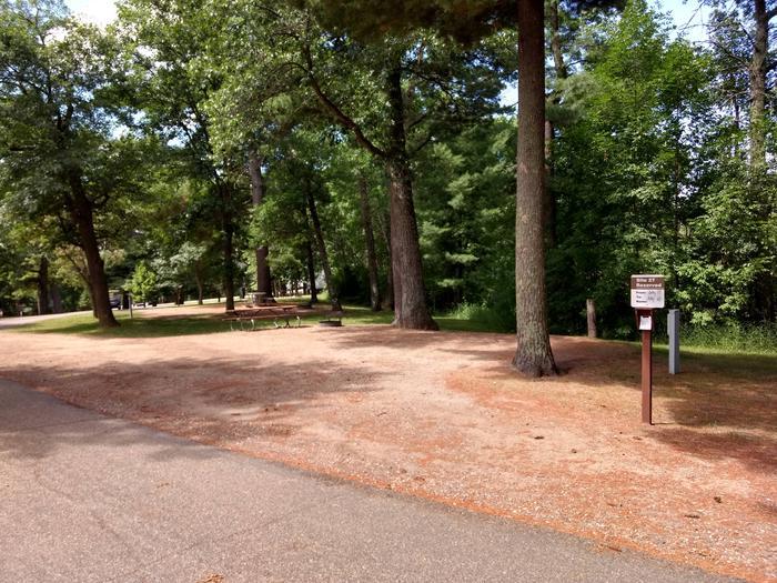 Sandy Lake - Campsite 27Sandy Lake Site 27