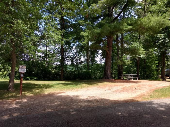 Sandy Lake - Campsite 29Sandy Lake Site 29