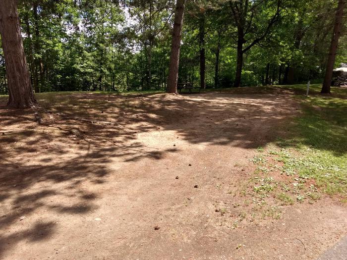 Sandy Lake - Campsite 33Sandy Lake Site 33