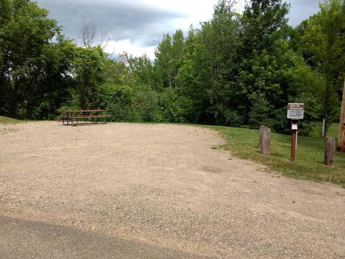 Sandy Lake - Campsite 35Sandy Lake Site 35