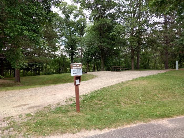 Sandy Lake - Campsite 39Sandy Lake Site 39