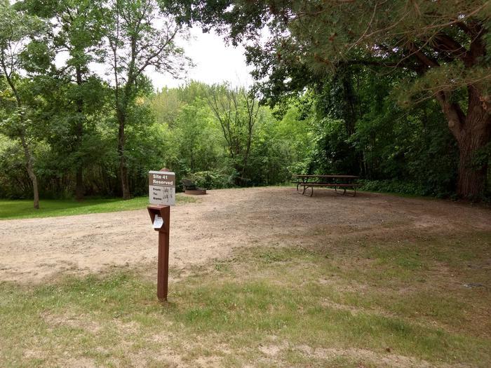 Sandy Lake - Campsite 41Sandy Lake Site 41