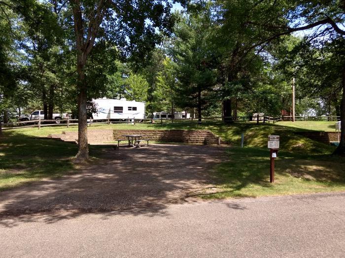 Sandy Lake - Campsite 46Sandy Lake Site 46