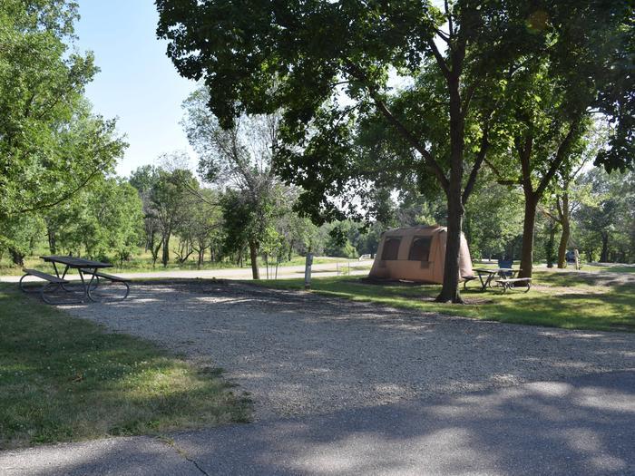 whitebreast Campsite number 1whitebreast campsite number 1