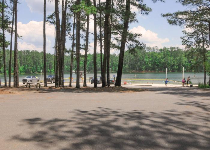 McKaskey Creek Campground Beach Area