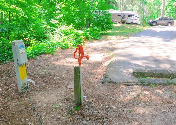 Utilities configurationMcKaskey Creek Campground, campsite 3