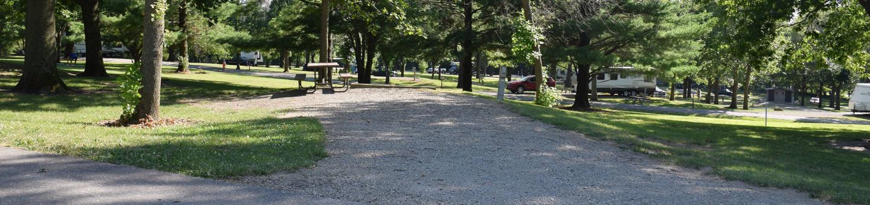 Whitebreast campsite number 4