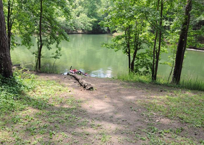 Water access.McKaskey Creek Campground, campsite 48.