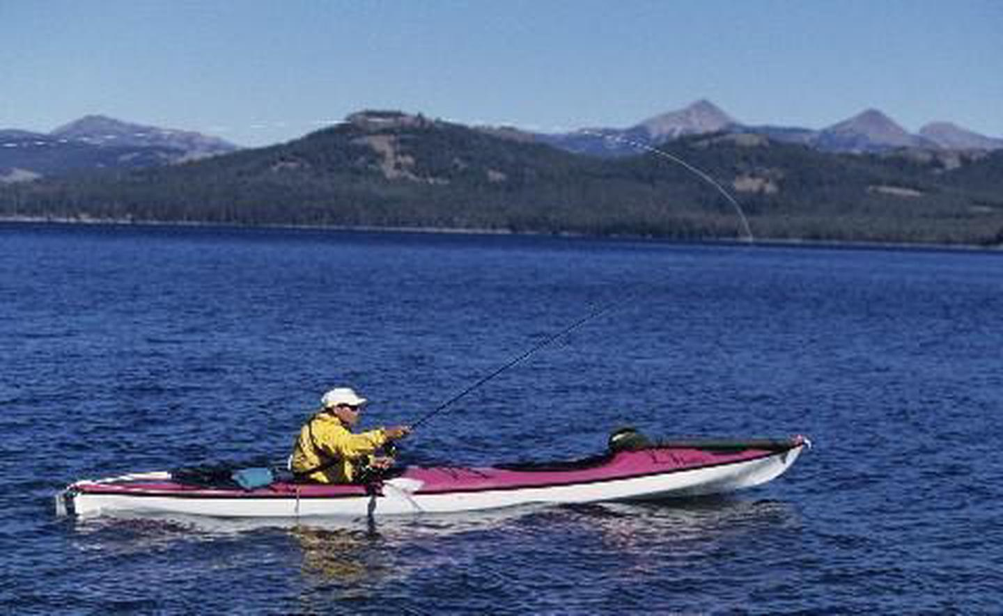 Lake YellowstoneFishing, boating and water sports are some of the activities available on more than 7,000 feet.