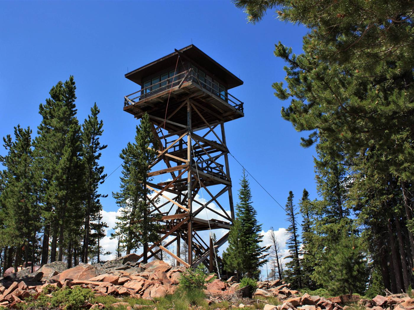 Spruce Mountain Fire Lookout Tower, Medicine Bow-Routt National Forest