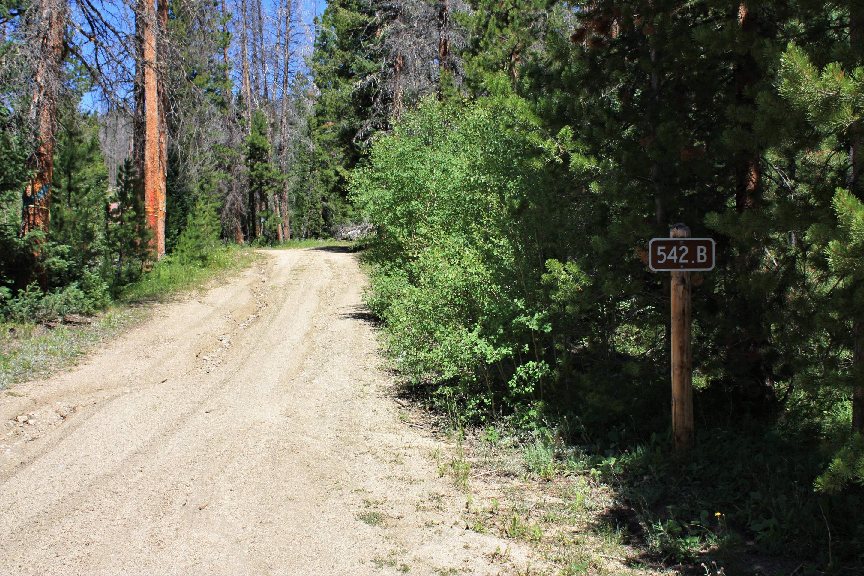 Keystone Ranger Station road sign