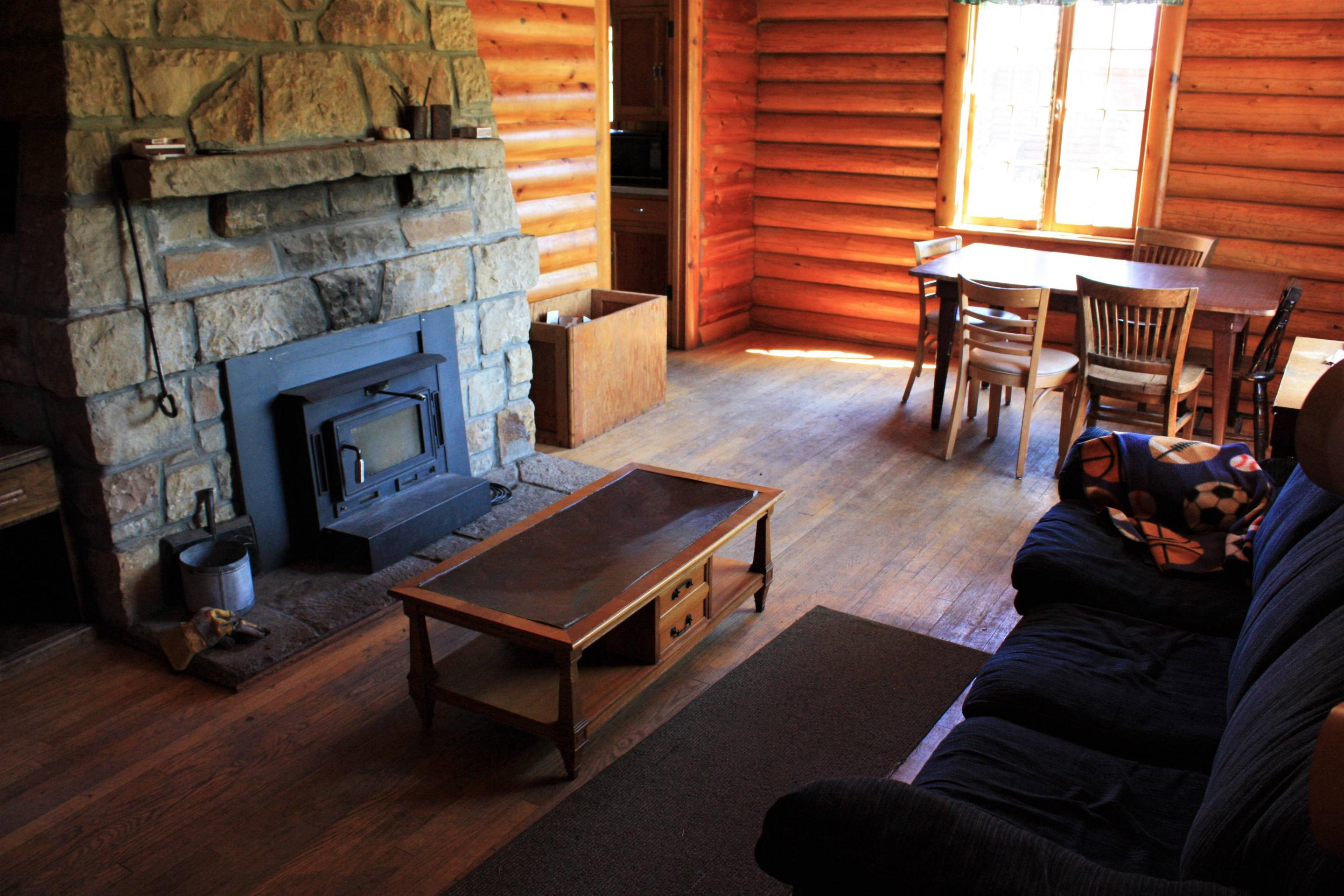 Keystone Ranger Station living room