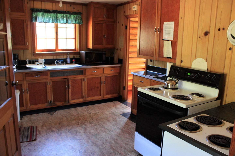 Keystone Ranger Station kitchen
