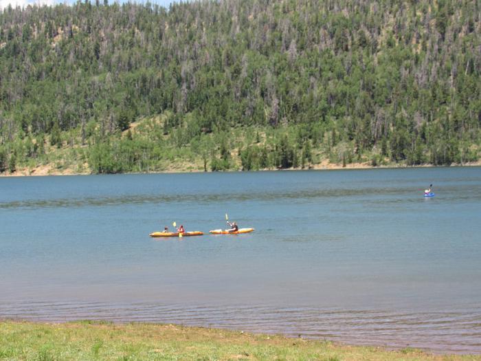 Don't forget your Kayak!  Kayaking Navajo Lake