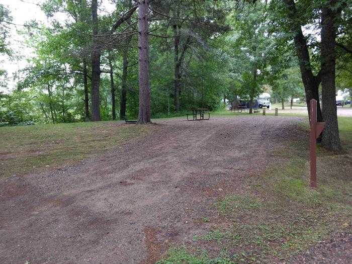 Sandy Lake - Campsite 32Sandy Lake Site 32